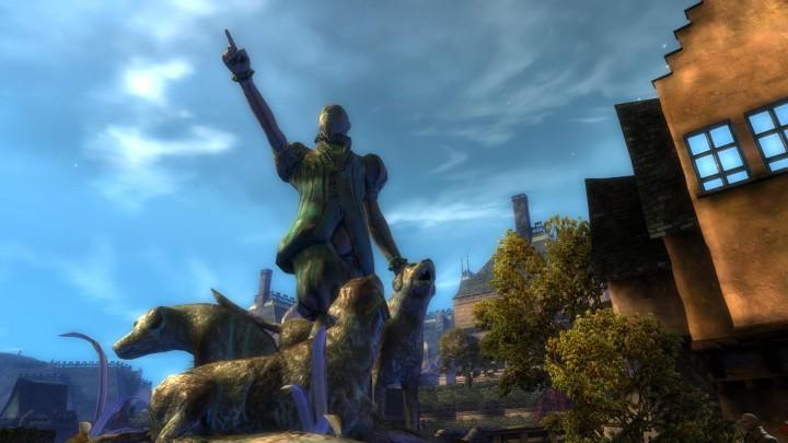 Guild Wars 2 Caudecus-Statue