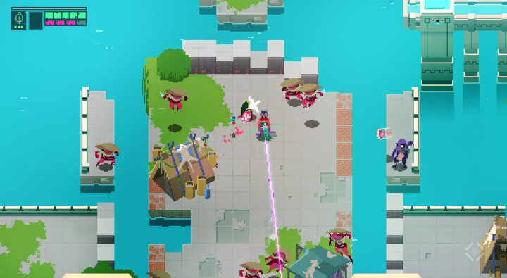 hyper light drifter battle