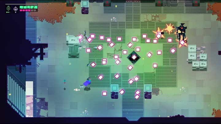 hyper light drifter bullet-hell