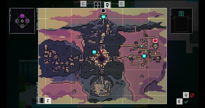hyper light drifter map
