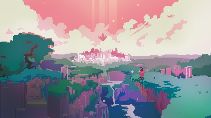 hyper light drifter scenery