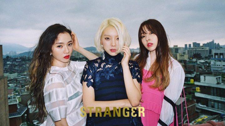 ladies' code strang3r album cover