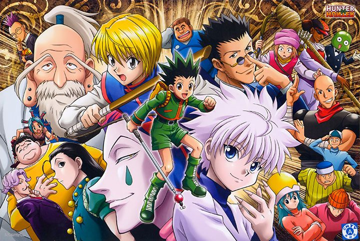 shounen hunter x hunter
