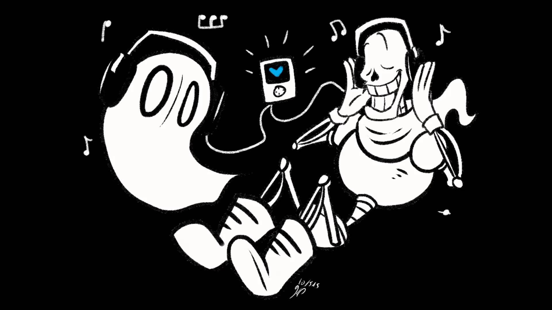 Gaster from undertale song